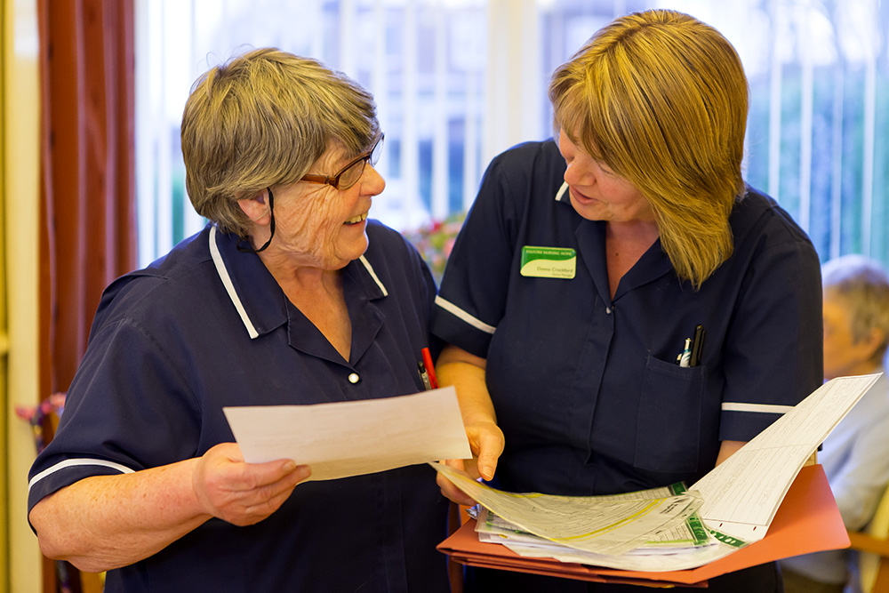 Why work in a care home